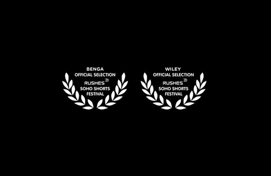 2 x Official Selections for Rushes Soho Shorts Festival 2