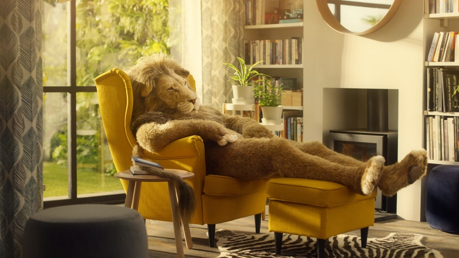 IKEA 'Lion Man'