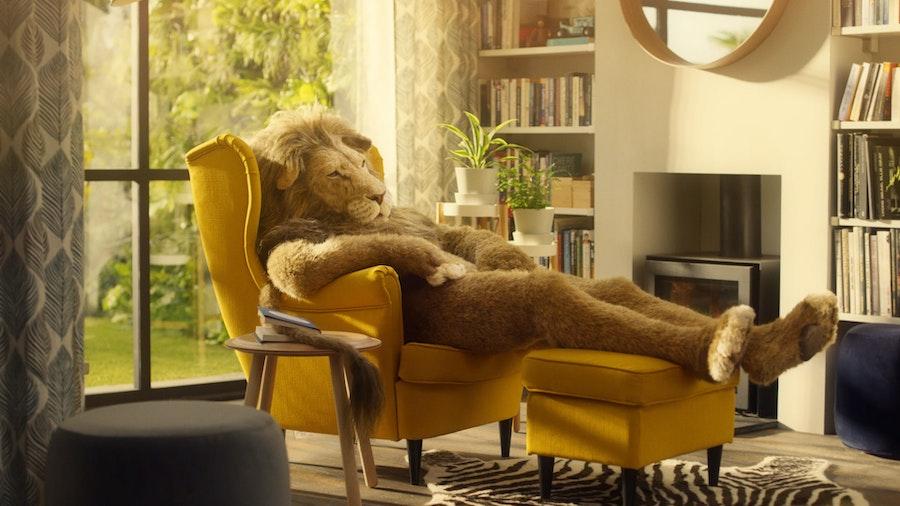 IKEA 'Lion Man'