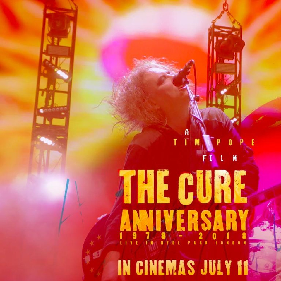 """TIM POPE DIRECTOR HOME - The Cure's """"Anniversary"""" live in Hyde Park, London"""