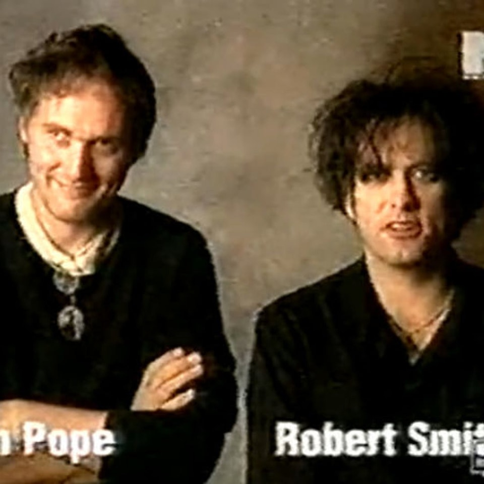 Making of The Cure videos... - Robert Smith & Tim Pope MTV interview