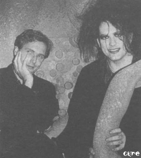"""TIM POPE DIRECTOR HOME - Robert Smith and Tim Pope """"Video Killed the Radio Star"""" documentary"""