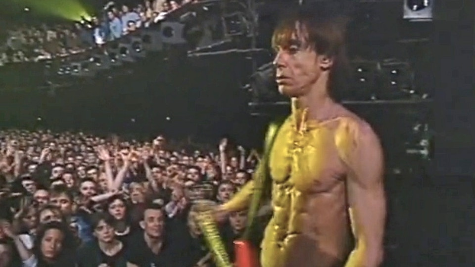 "Iggy Pop ""Kiss My Blood"" live Paris concert film"