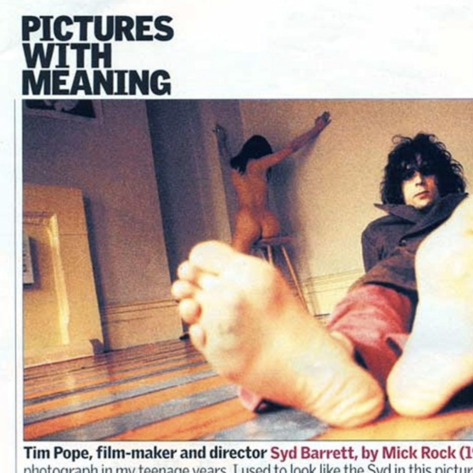 """TIM POPE DIRECTOR HOME - The Guardian Weekend Magazine, """"Pictures with Meaning,"""" February 2005"""