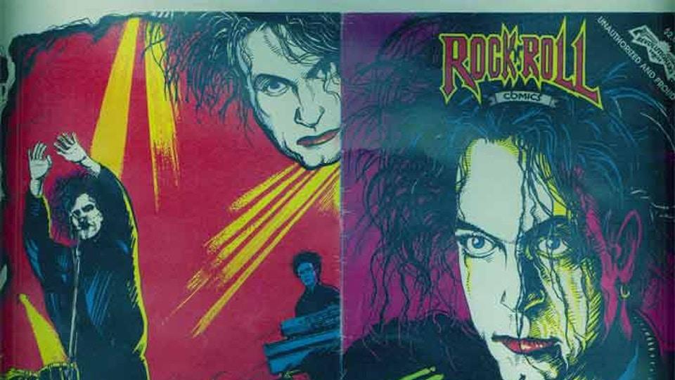 "The Cure ""RockRoll"" comic book"
