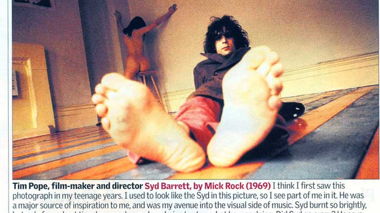 THE GUARDIAN WEEKEND MAGAZINE, 'PICTURES WITH MEANING'/FEB 2005 -