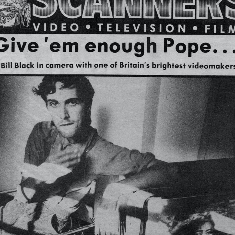 TIM POPE DIRECTOR HOME - UK Sounds Magazine, August 20th, 1983