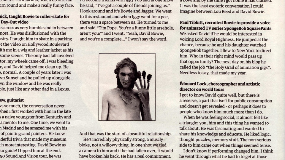 THE GUARDIAN WEEKEND MAGAZINE/23RD FEBRUARY, 2013