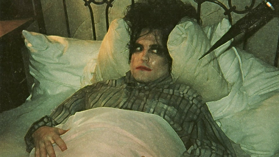 "THE CURE LULLABY - ""I feel like I'm being eaten by a thousand million shivering furry holes"""