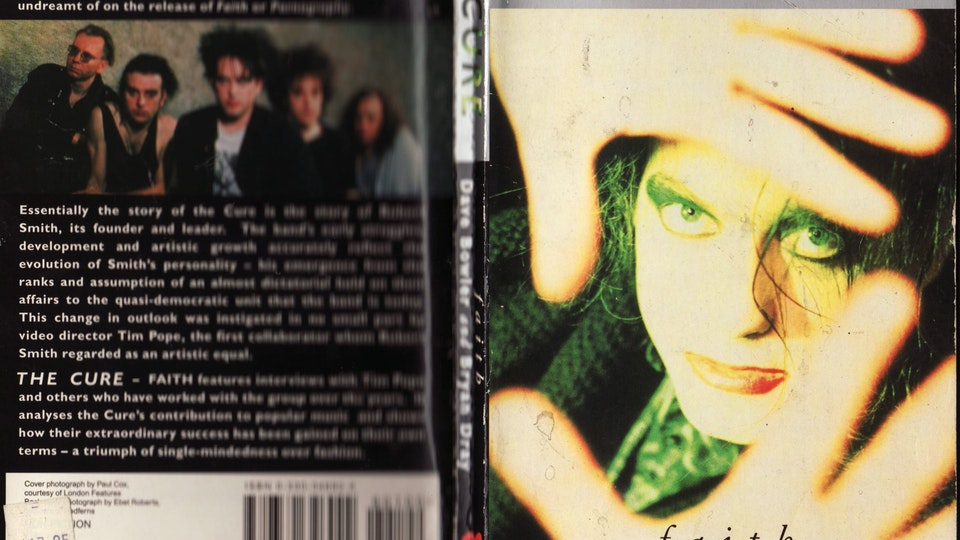 THE CURE BOOK 'FAITH' BY DAVID BOWLER & BRYAN DRAY