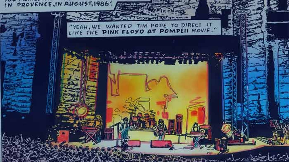 CURE 'ROCKROLL' COMIC BOOK