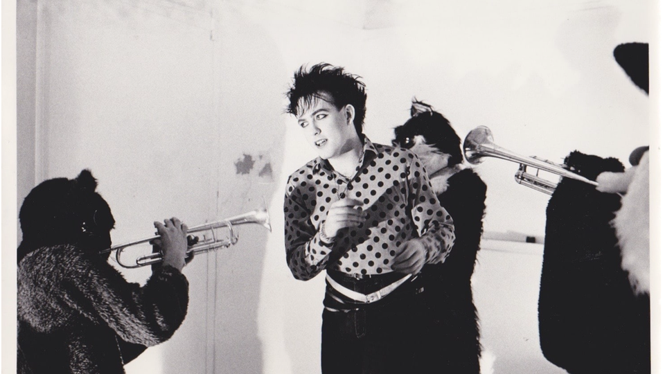 "The Cure ""The Lovecats"" - Photograph by Steve Rappaport."
