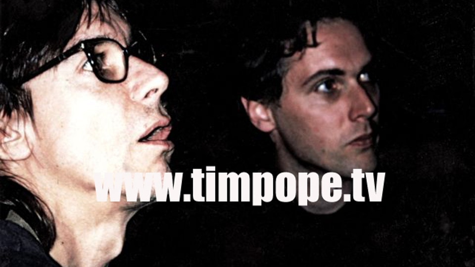 IGGY POP CONCERT OPENING TITLES/RAW POWER - The first playback for Iggy by Tim - the first time Iggy ever saw his own performance, all the way through