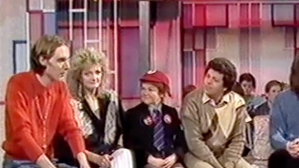 Tim Pope on BBC's Saturday Morning Superstore w/ The Krankies...