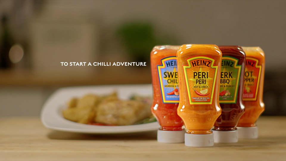 "Heinz ""Turn up the taste"" Campaign"