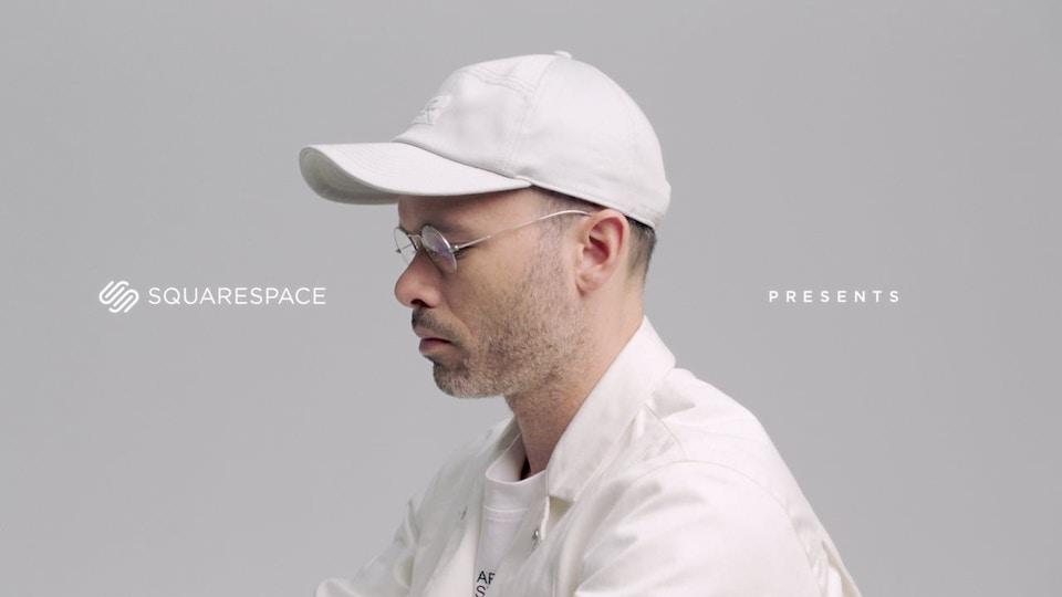 Squarespace 'Daniel Arsham'