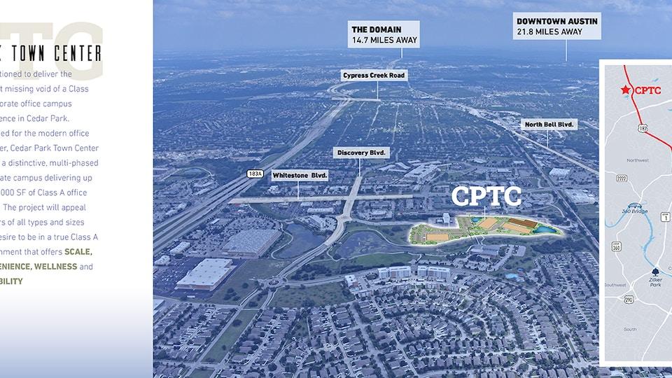 CBRE Cedar Park Town Center Brochure