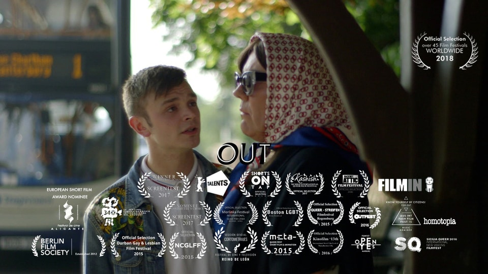 OUT (drama/comedy/LGBTQ, UK, 17min)