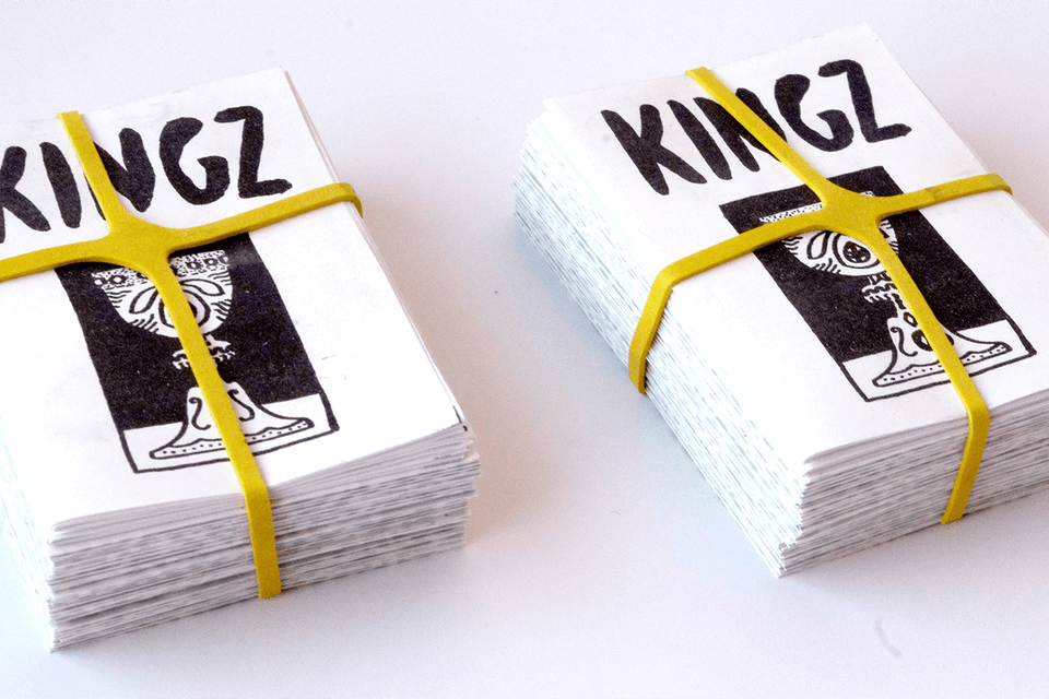 KINGZ - Simple but efficient packaging
