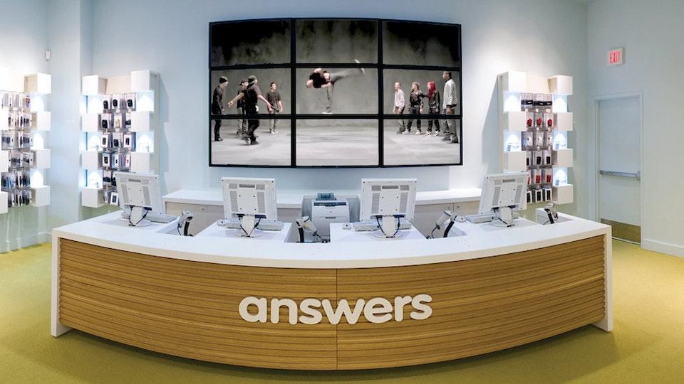 T-Mobile Store Design