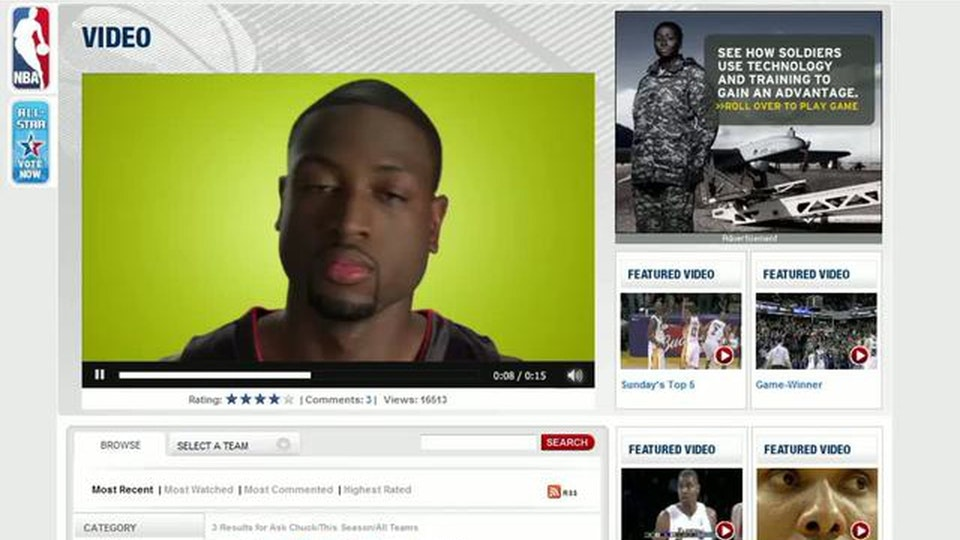 T-Mobile and the NBA Digital - Web Banner