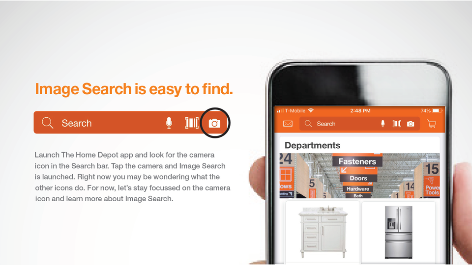 The Home Depot Microsite
