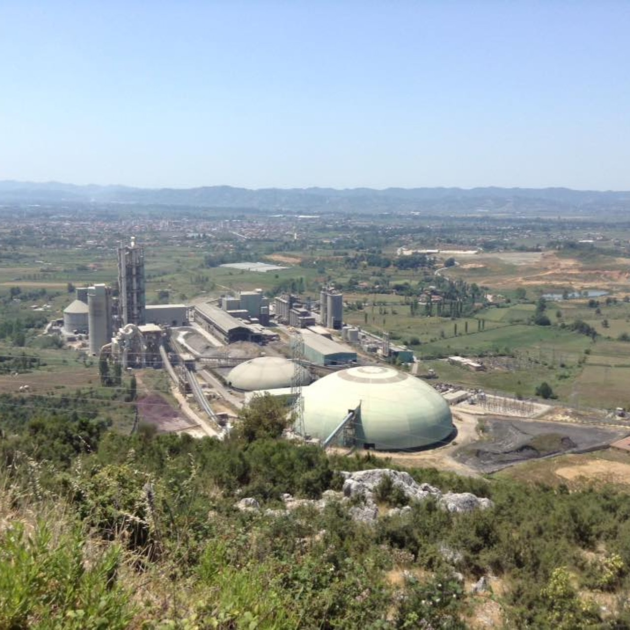 FUSHE KRUJE CEMENT FACTORY - 400 HA - AL