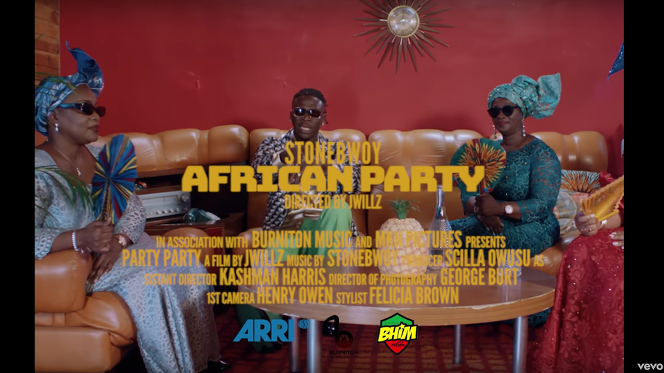 Stonebwoy | African Party (Music Video)