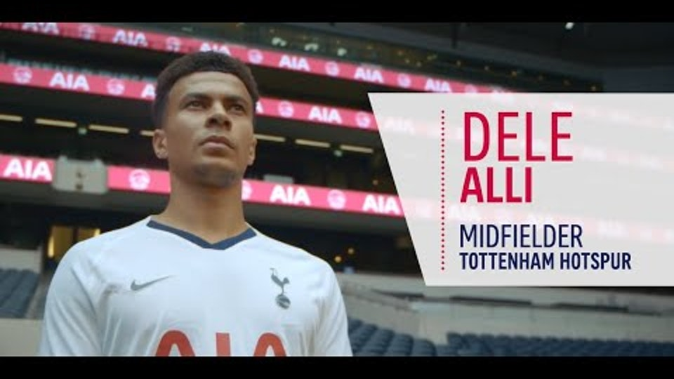 AIA x Tottenham Hotspur|Behind The Player (Promo)