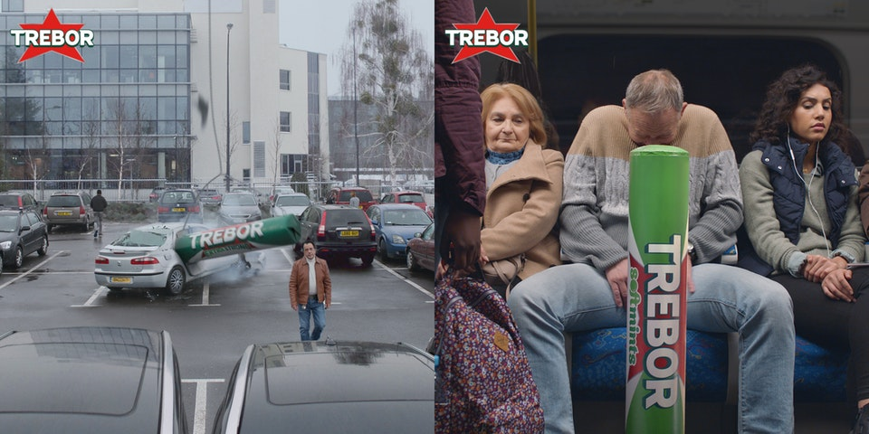 Big Buoy - Give me strength: Trebor flip universally annoying life situations into relatable advertising.