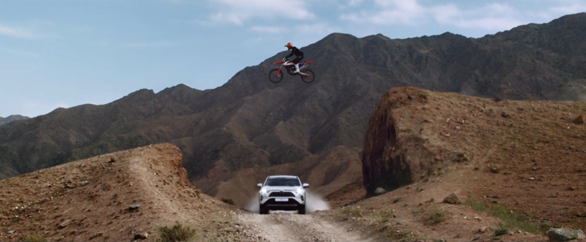 Toyota RAV4: Push The Limit