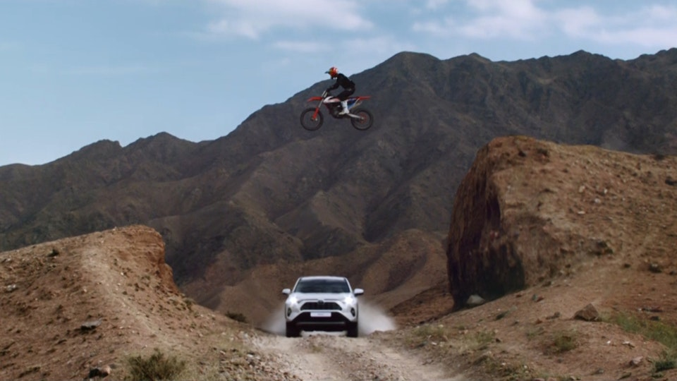 Tag Collective Arts - Toyota RAV4: Push The Limit