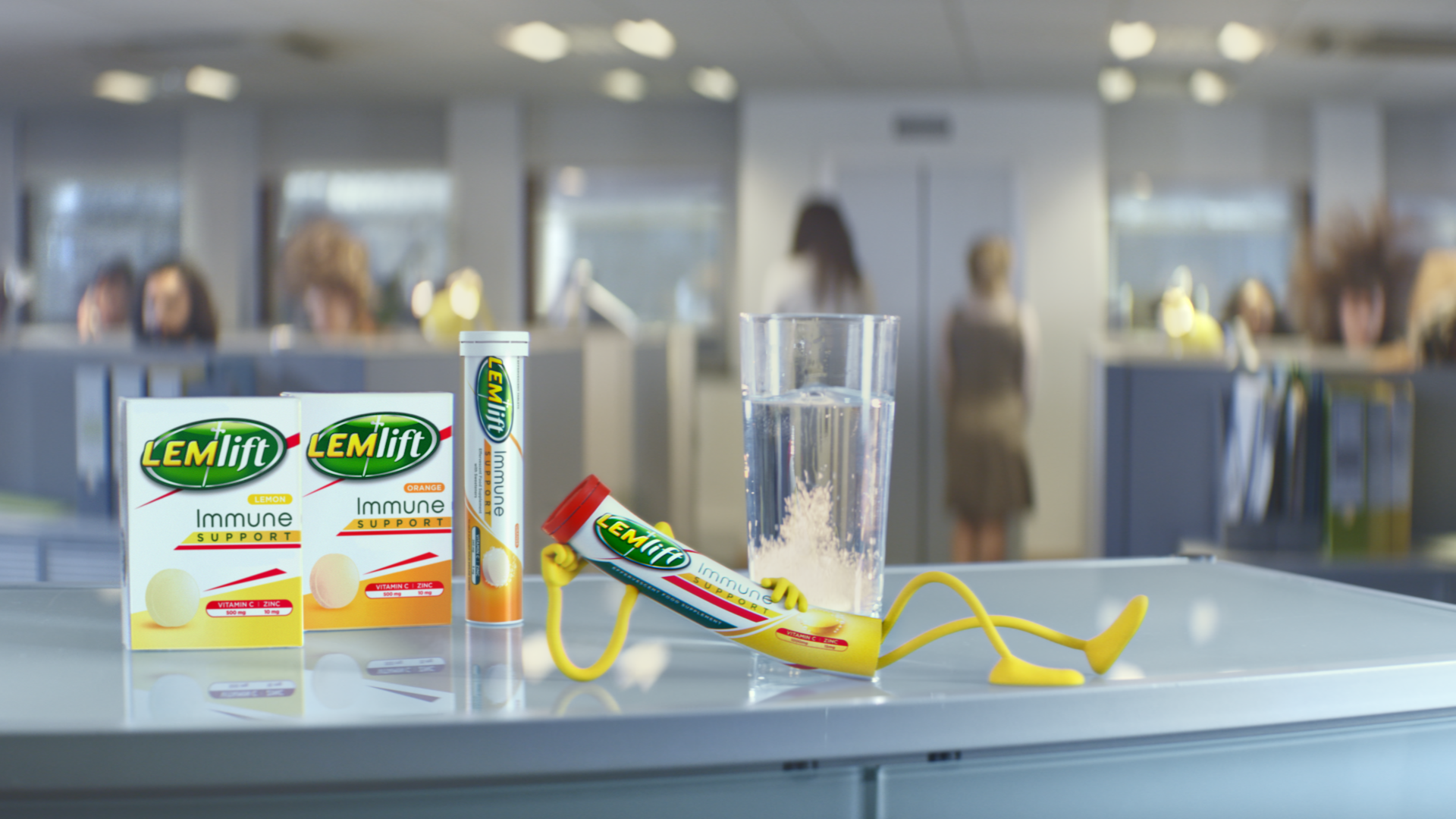 Big Buoy - New Work: Lemsip gets a revamp in new TVC