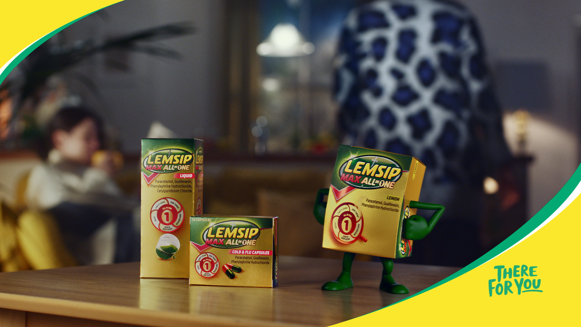 Big Buoy - New work: Lemsip gets a character revamp in new TVC