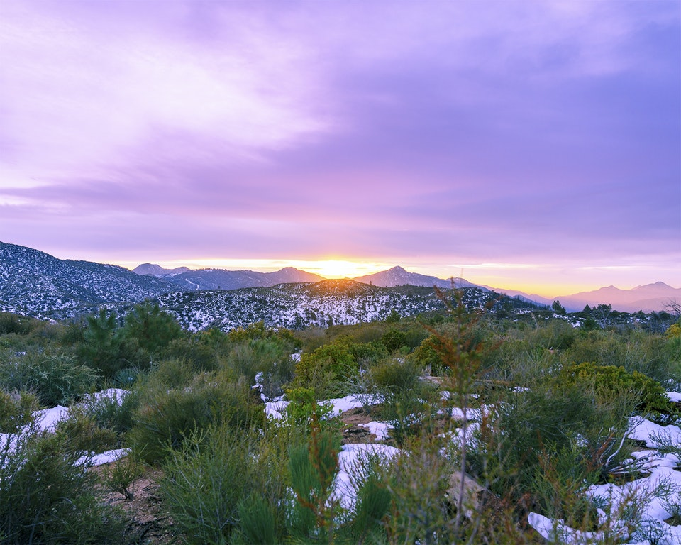 new - <b>edge of sunset 1</b> angeles national forest, ca