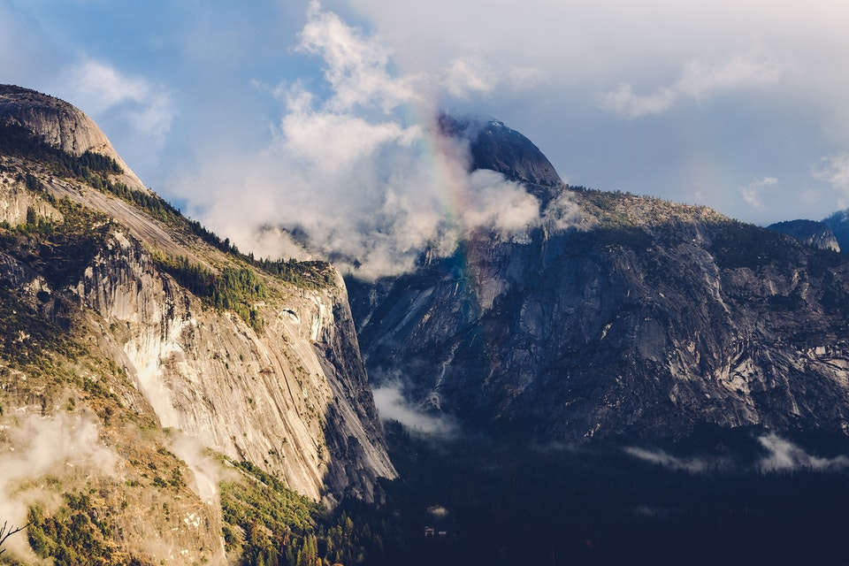 2018 - <b>rainbow</b> yosemite national park, ca
