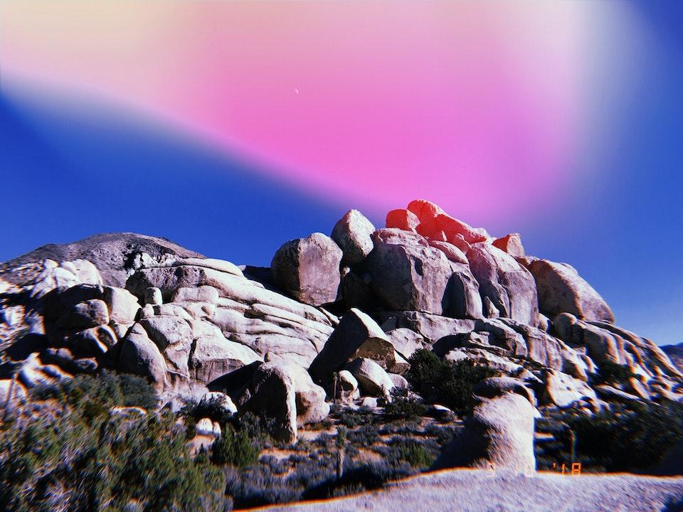 Phone - HUJI APP; Joshua Tree National Park, CA