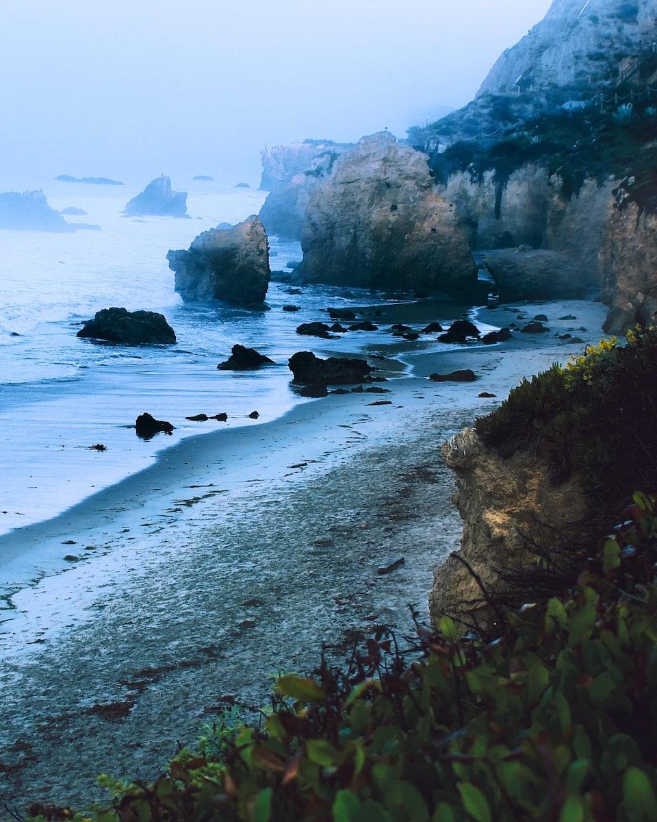 2019 - <b>mystic morning</b> el matador beach, ca