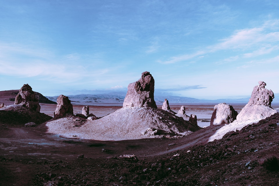Trona Pinnacles - Pinnacles