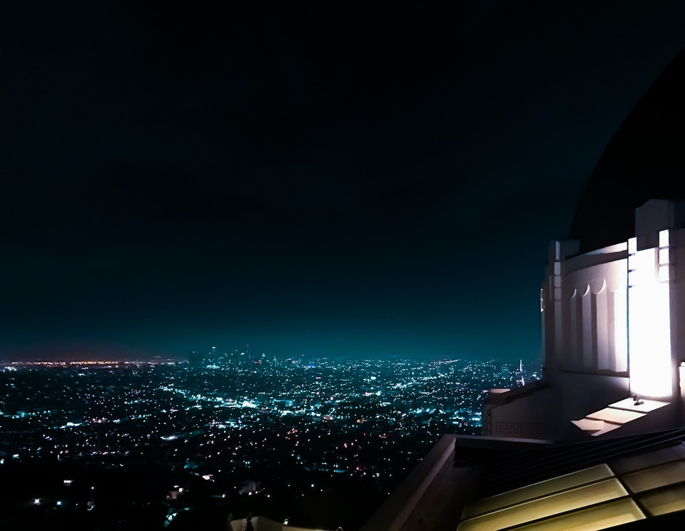 Phone - Glow; Griffith Observatory, Los Angeles, CA