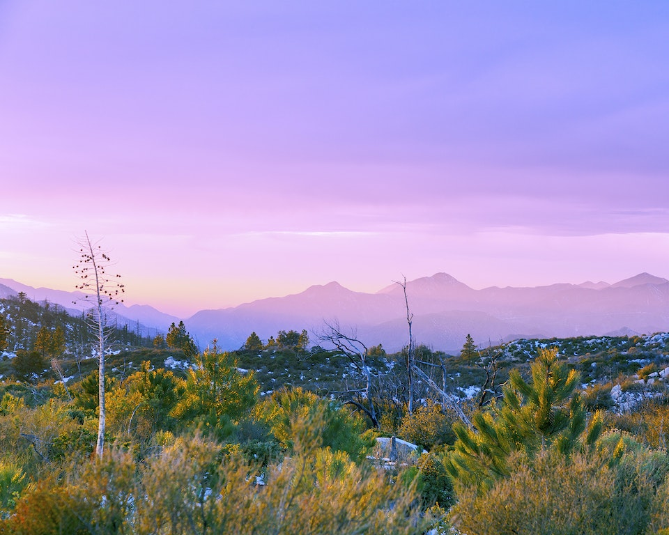 new - <b>edge of sunset 2</b> angeles national forest, ca