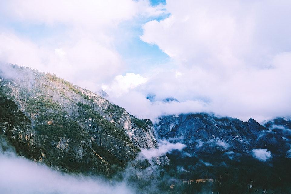 2019 - <b>cloud blanket 1</b> yosemite national park, ca