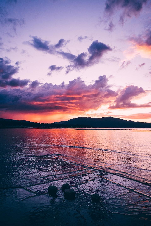 2018 - <b>big bear lake sunset</b>