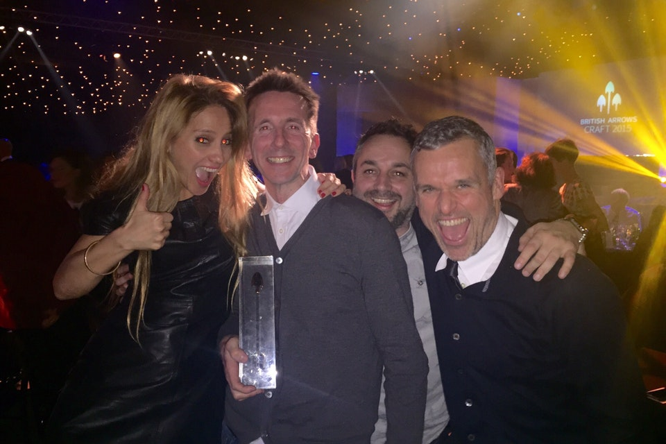 Matthew Felstead Wins Gold at The British Arrow Craft Awards 2015!!