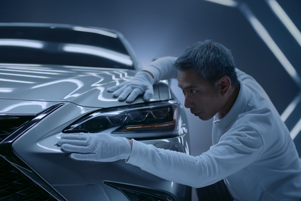 NEW LEXUS ES AD SCRIPTED ENTIRELY BY ARTIFICIAL INTELLIGENCE