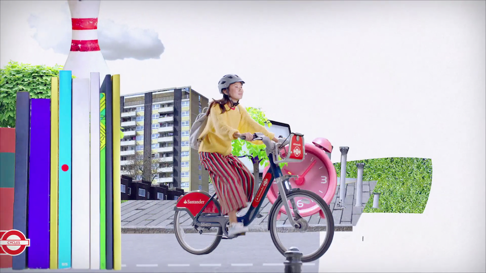 """Santander promote cycling as the ultimate method to rediscover London in new ad"""