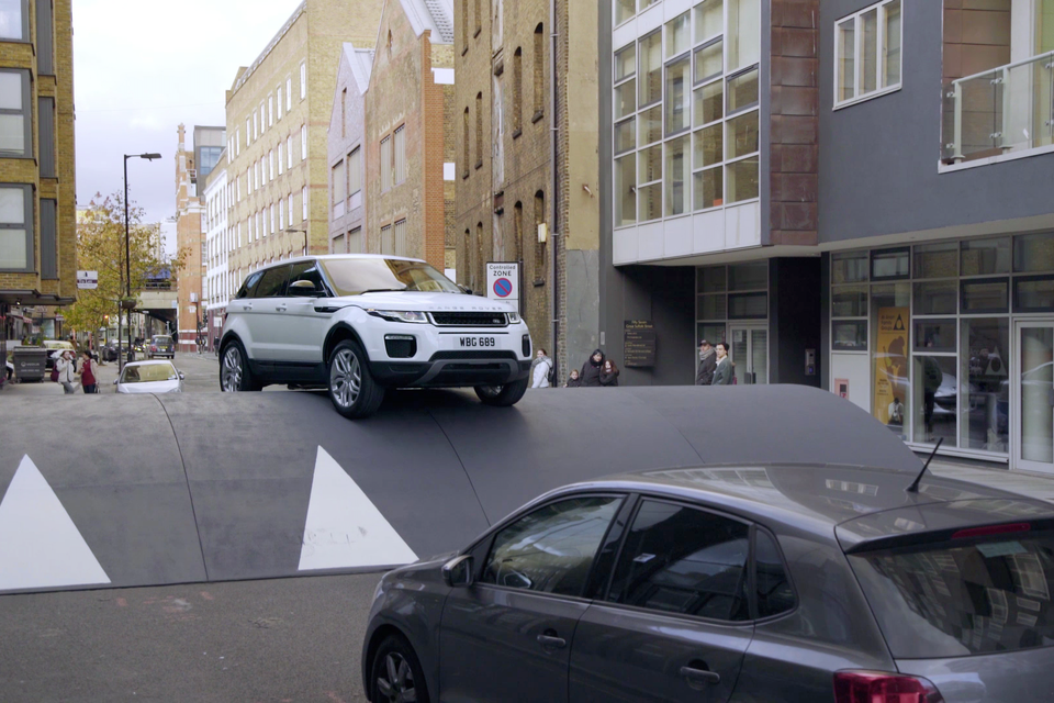 Range Rover Evoque: Speed Bump