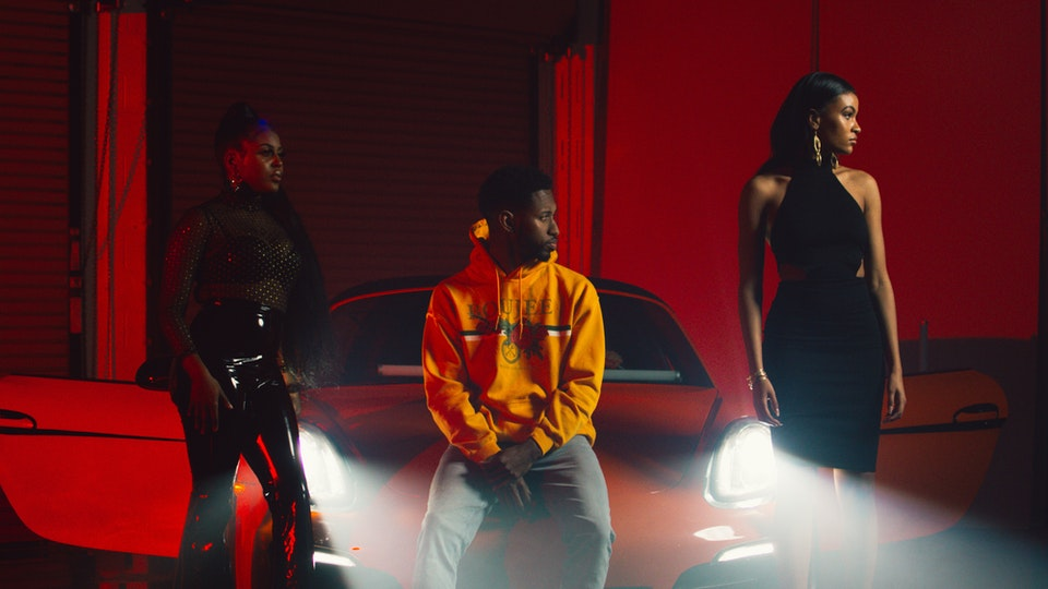 Behind The Scenes - Behind the scenes photos from Sammy VOA's music video for Roll.  Director: @Tommy4k 1st AD: @EmanTheCreator