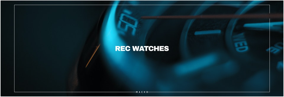 M A C H O - REC WACTHES // 901 Launch Campaign