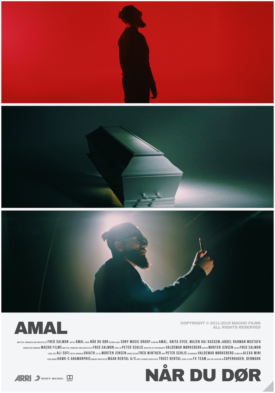 M A C H O - AMAL // Når Du Dør